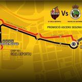 Reus Deportiu – Racing de Santander. Vine a l'estadi amb el Bus