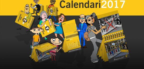 Per cada dues recàrregues et regalem un calendari