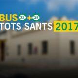 Servei especial TOTS SANTS 2017