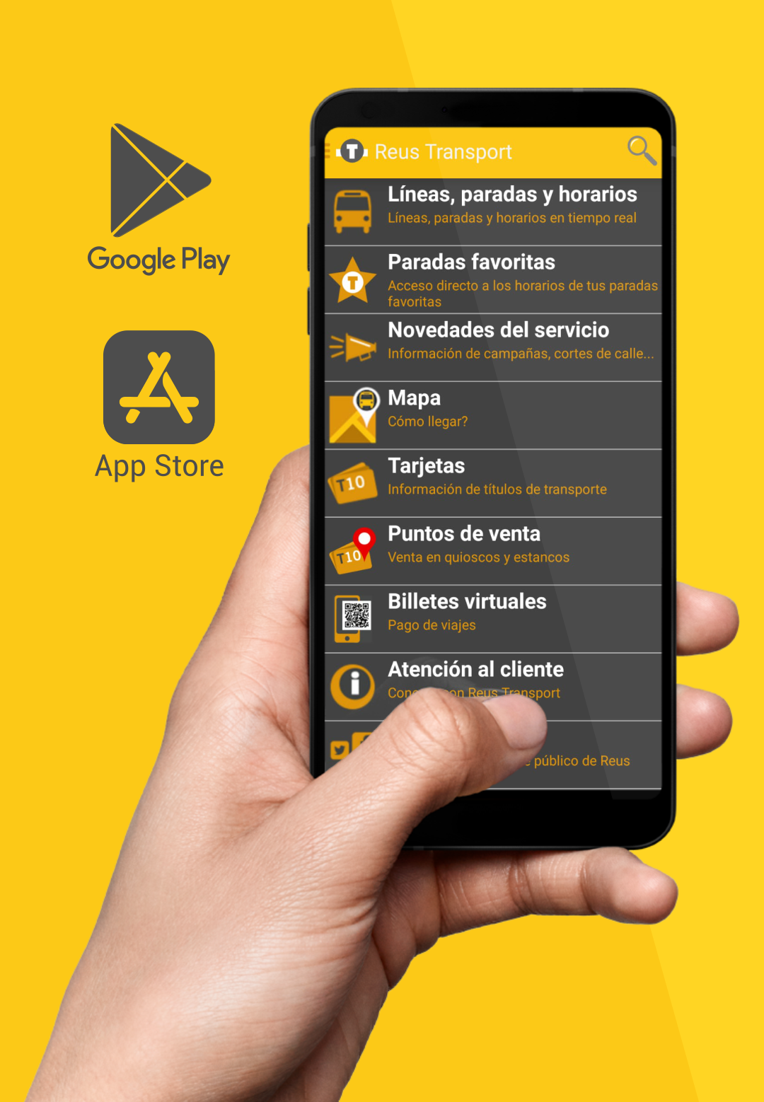 Descarrèga l'app