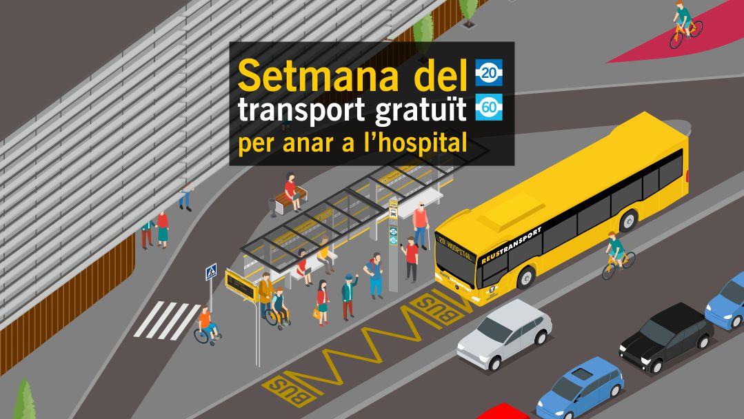 Setmana del transport gratuït per anar a l'hospital