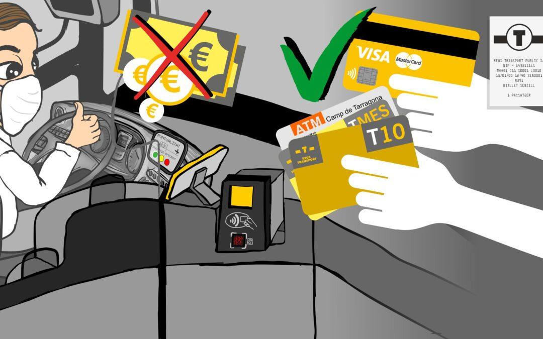 Si no disposes de cap abonament, pots pagar amb qualsevol targeta de crèdit, sense contacte o amb les aplicacions de pagament disponibles als telèfons mòbils.