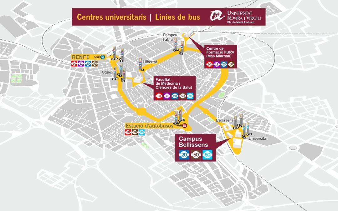 A la Universitat en Bus