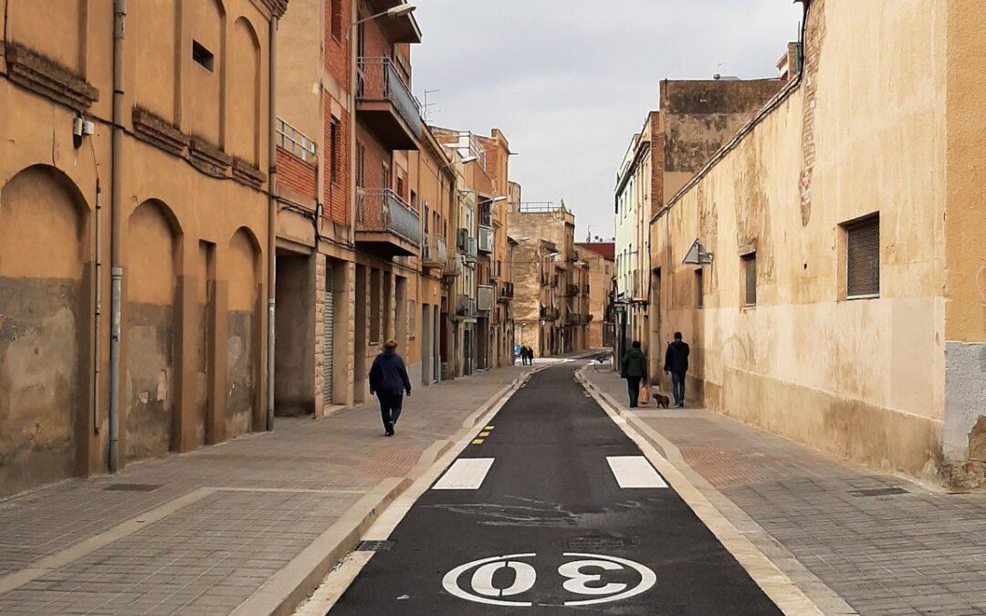 Queda restablerta la L42 al seu pas per Camí de Valls